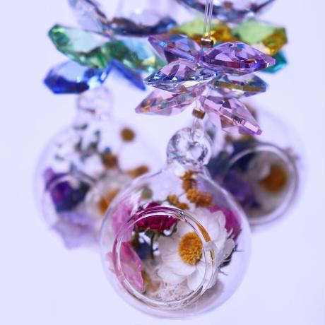 BOTANICAL PRISM hyu-na オリジナルサンキャッチャー