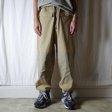 """Neweye """"Out Pants"""" / ニューアイ """"アウトパンツ""""(ベージュ)"""