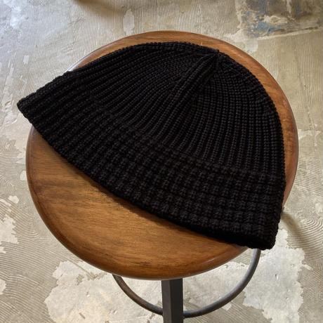 "RACAL ""Knit Metro Hat"" / ラカル""ニットメトロハット"" (ブラック)"