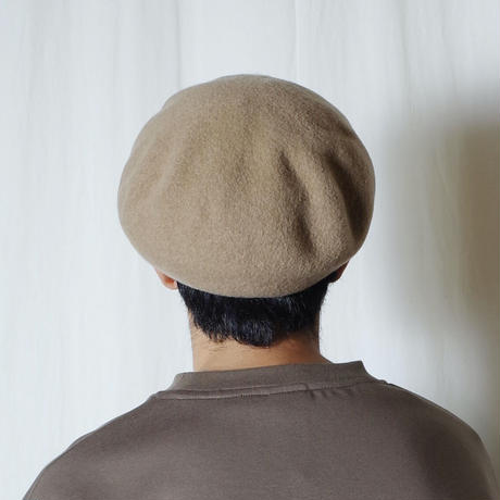 "RACAL ""Wool Beret"" / ラカル""ウールベレー"" (ベージュ)"