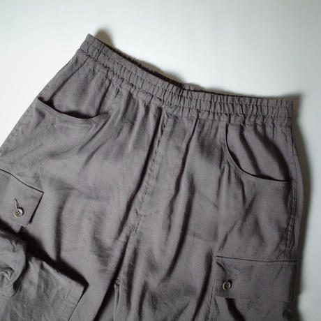 "Neweye ""Relax Cargo Pants"" / ニューアイ ""リラックスカーゴパンツ"" (チャコールグレー )"