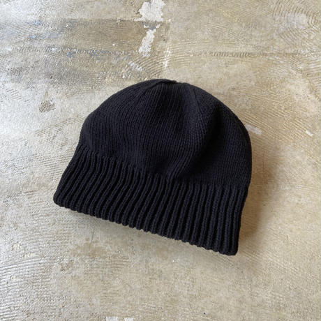 "crepuscule ""knit cap"" / クレプスキュール ""ニットキャップ"" (ブラック)"