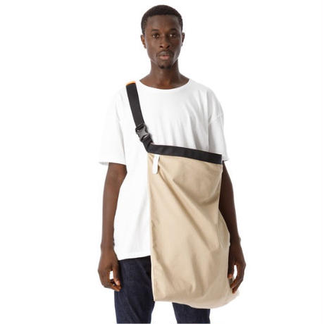 "SANDINISTA ""Chino 2way Shoulder Bag - XL"" / サンディニスタ ""チノショルダーバッグXL"" (ベージュ)"