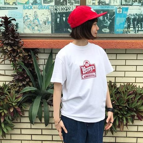 """VOTE MAKE NEW CLOTHES """"Wendy's Old Fashion Tee"""" / ヴォートメイクニュークローズ """"ウェンディーズT""""(ホワイト)"""