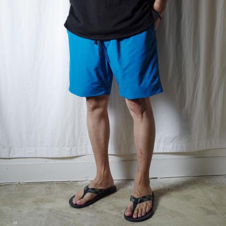 "SANDINISTA ""Comfy Stretch Shorts"" / サンディニスタ ""総裏メッシュストレッチショーツ"" (ターコイズ)"