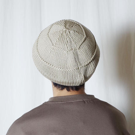 "RACAL ""Knit Tam Beret"" / ラカル""ニットタムベレー"" (ベージュ)"
