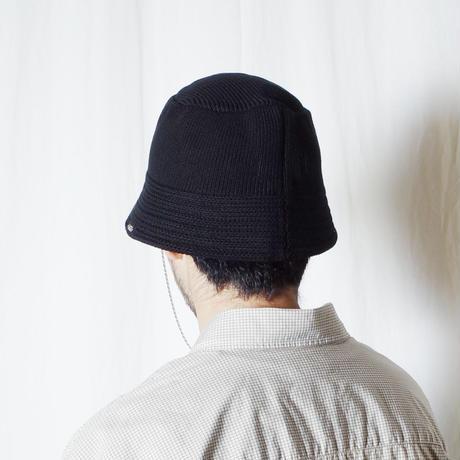 """RACAL """"Knit Bucket Hat"""" / ラカル""""ニットバケットハット"""" (ブラック)"""
