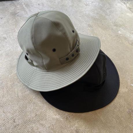 """RACAL """"Reversibe Metro Hat"""" / ラカル""""リバーシブルメトロハット"""" (ブラック)"""
