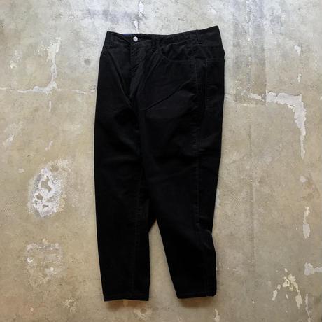 """■お問い合わせ商品■ gourmet  jeans """"type3 LEAN"""" (ブラックコーデュロイ)"""