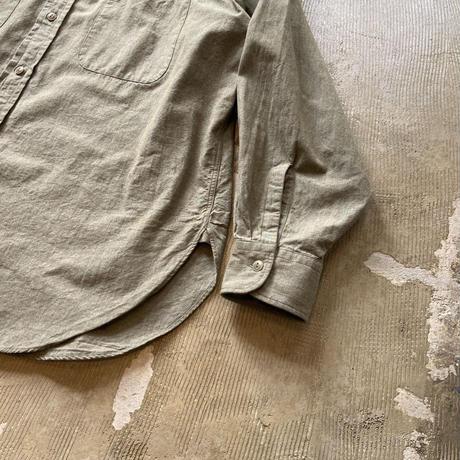 """■お問い合わせ商品■ Marvine Pontiak Shirt Makers """"Military SH"""" (カーキシャンブレー)"""