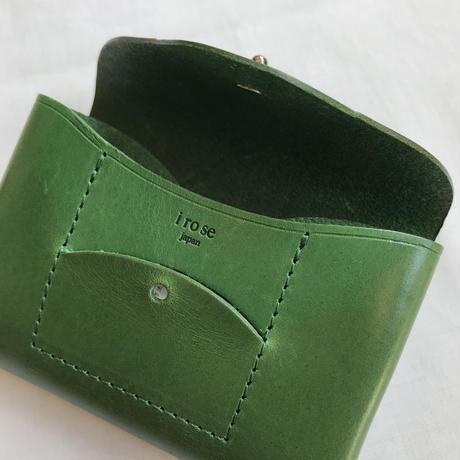 """irose """"ric-rac card case"""" / イロセ""""リクラクカードケース""""(グリーン)"""