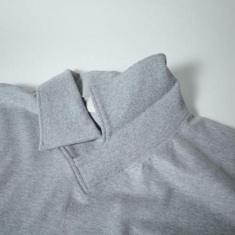 """■お問い合わせ■gourmet  jeans """"スキッパーポロ""""(グレー)"""