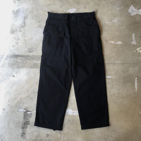 "O- ""CORDURA®︎ BDU Trousers"" / オー ""コーデュラBDUトラウザーズ"" (ブラック)"