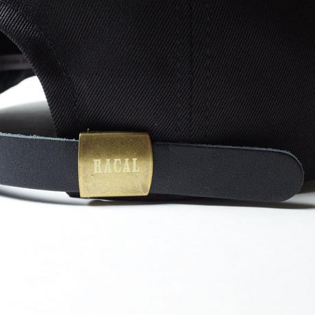 """RACAL """"8 Panel Cap"""" / ラカル""""8パネルキャップ"""" (ブラック)"""