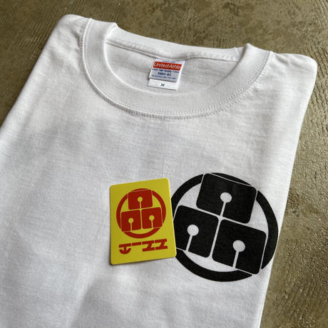 "HiNN original ""LOGO Tee"" (ホワイト)"