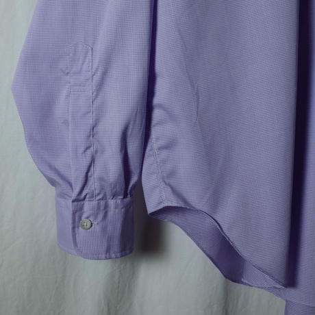 "■お問い合わせ商品■ Marvine Pontiak Shirt Makers ""B.D. P/O SH"" (ラベンダー)"