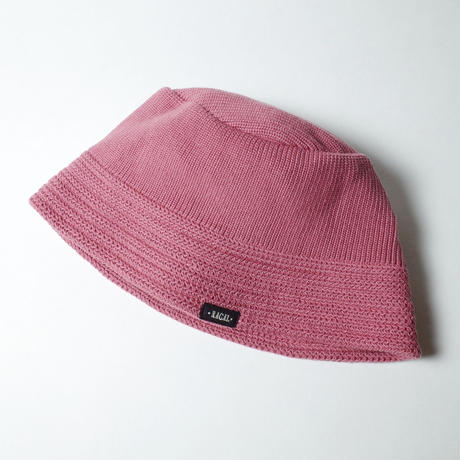 """RACAL """"Knit Bucket Hat"""" / ラカル""""ニットバケットハット"""" (ピンク)"""