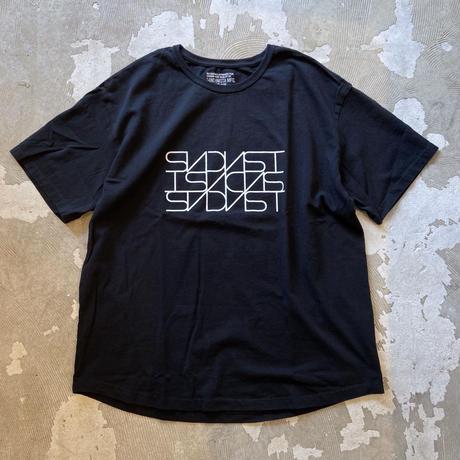 """SANDINISTA """"Classic Logo Tee """" / サンディニスタ """"クラシックロゴTシャツ""""(ブラック)"""