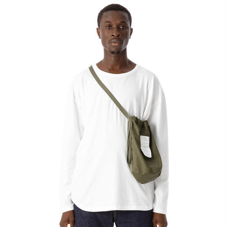"SANDINISTA "" Ventile Drawstring Bag""(カーキ )"