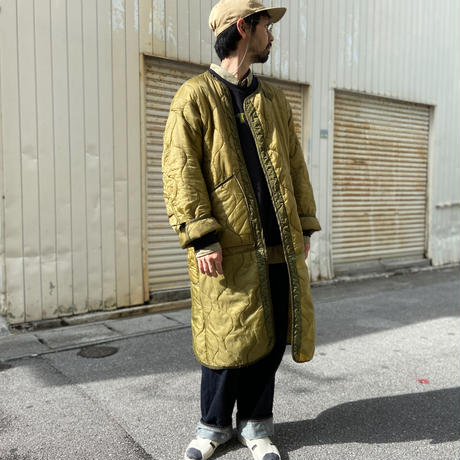 "Blouse ""M65 Liner Remake Coat"" / ぶるーず ""M65ライナー リメイクコート""(オリーブ)"