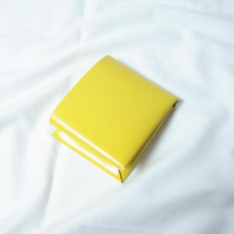 "irose ""seamless short wallet"" / イロセ ""シームレスショートウォレット""(イエロー)"