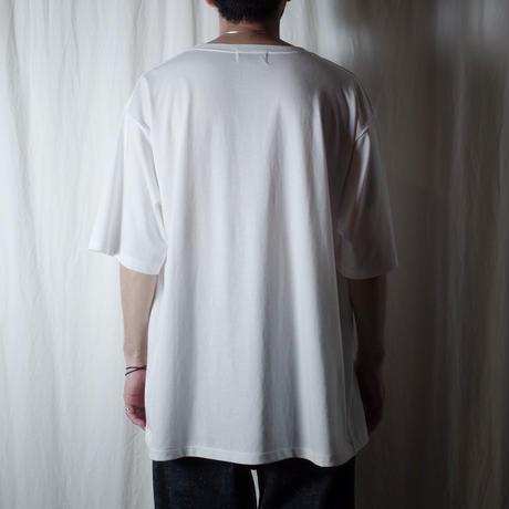 """■お問い合わせ■gourmet  jeans """"GJ刺繍 S/S Tee""""(ホワイト)"""