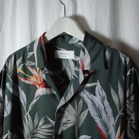 """SANDINISTA """"Aloha Shirt"""" / サンディニスタ """"アロハシャツ"""" (グリーン)"""