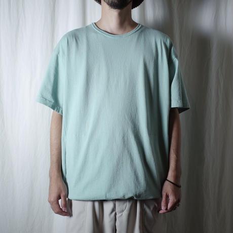 """SANDINISTA """"Drawstring Pocket Tee """" / サンディニスタ """"裾ゴム入りポケットTシャツ"""" (ミント)"""