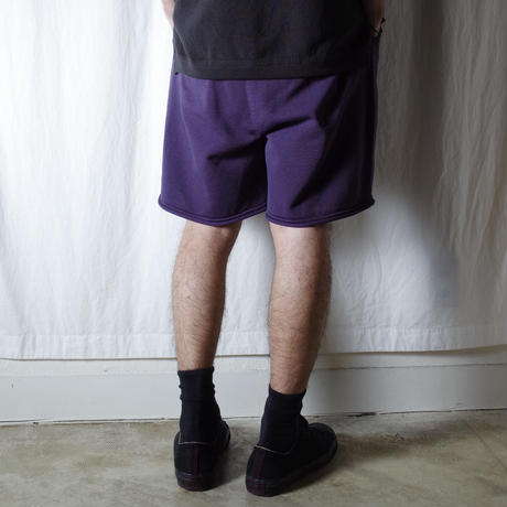 "crepuscule ""SHORT PANTS"" / クレプスキュール ""ショートパンツ"" (パープル)"