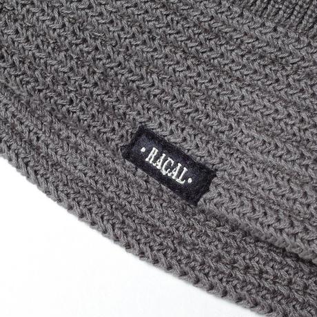 "RACAL ""Knit Bucket Hat"" / ラカル""ニットバケットハット"" (グレー)"