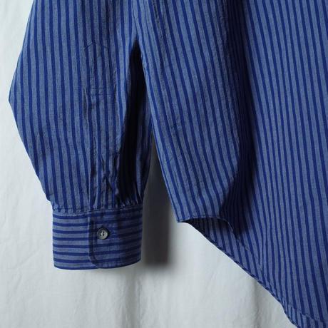 """■お問い合わせ■Marvine Pontiak Shirt Makers """"B.D. P/O SH"""" (ネイビーストライプ)"""