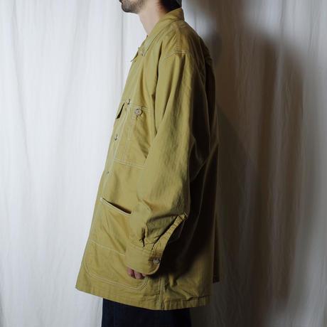 """■お問い合わせ■Marvine Pontiak Shirt Makers """"Cover All  SH"""" (マスタード)"""