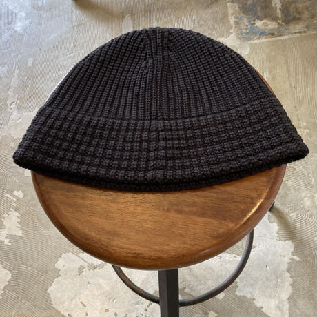 "RACAL ""Knit Metro Hat"" / ラカル""ニットメトロハット"" (チャコール )"