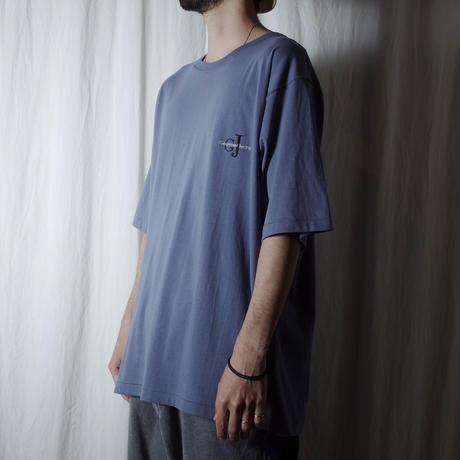 """■お問い合わせ商品■ gourmet  jeans """"GJ刺繍 S/S Tee""""(ブルーグレー)"""