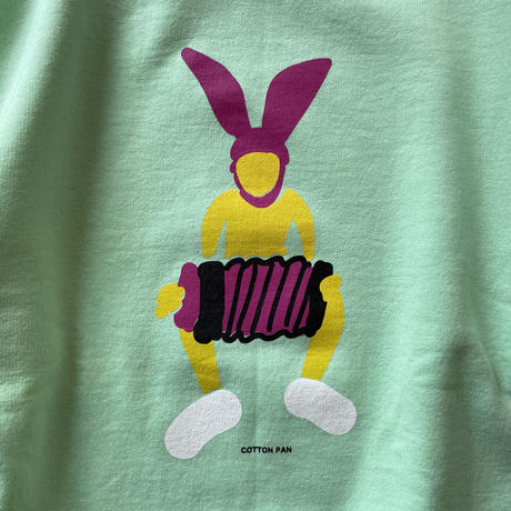 """COTTON PAN """"Bunny Boy SW"""" / コットンパン """"バニーボーイスウェット"""" (ネオングリーン)"""