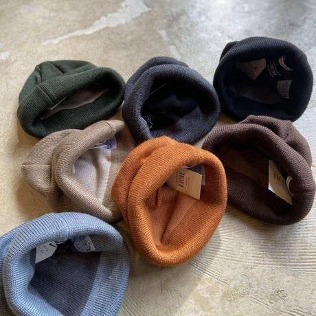 """RACAL """"Roll Knit Cap"""" / ラカル""""ロールニットキャップ"""" (ブラウン)"""