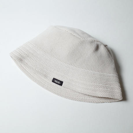 """RACAL """"Knit Bucket Hat"""" / ラカル""""ニットバケットハット"""" (アイボリー)"""