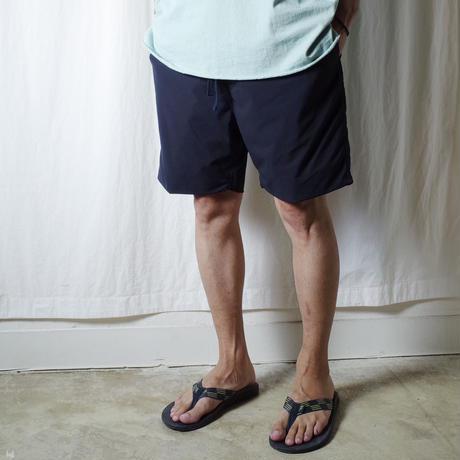 "SANDINISTA ""Comfy Stretch Shorts"" / サンディニスタ ""総裏メッシュストレッチショーツ"" (ネイビー)"