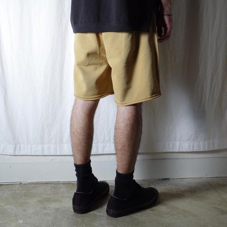 """crepuscule """"SHORT PANTS"""" / クレプスキュール """"ショートパンツ"""" (マスタード)"""