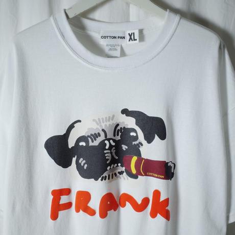 """COTTON PAN """"I'M Frank"""" / コットンパン """"アイムフランク"""" (ホワイト)"""
