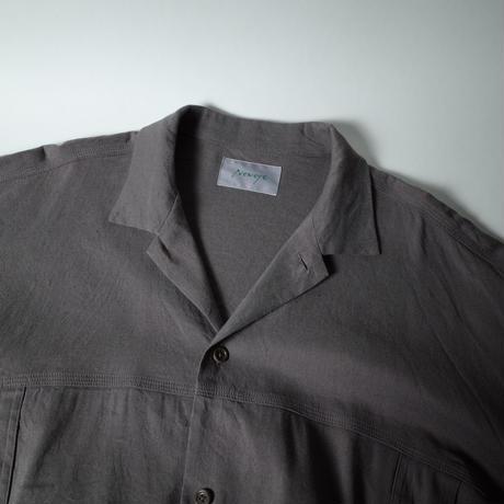 "Neweye ""Weekend Shirt"" / ニューアイ ""ウィークエンドシャツ"" (チャコールグレー )"