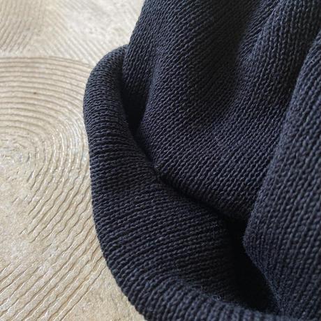 """RACAL """"21ss Roll Knit Cap"""" / ラカル""""ロールニットキャップ"""" (ブラック)"""