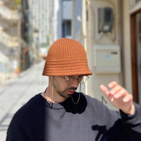 "RACAL ""Knit Metro Hat"" / ラカル""ニットメトロハット"" (ブラウン)"