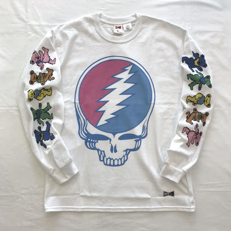 "VOTE MAKE NEW CLOTHES ""GRATEFUL DEAD L/S TEE"" (ホワイト)"