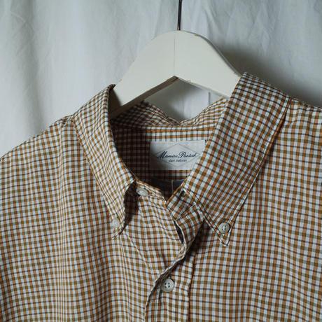 """■お問い合わせ商品■ Marvine Pontiak Shirt Makers """"B.D. SH"""" (フォックスチェック)"""