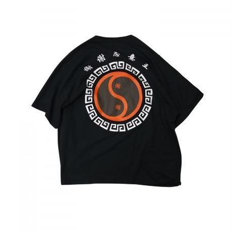 shei shei co.LTD SHEI SHEI CIRCLE BIG TEE (BLK) SS-19S-CT02-B