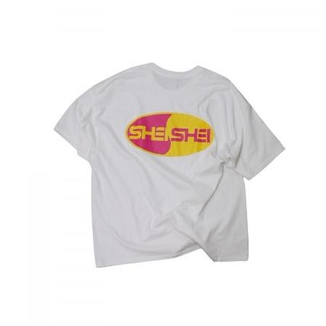 shei shei co.LTD SHEI SHEI 00's BIG TEE (WHT) SS-19S-CT02-C
