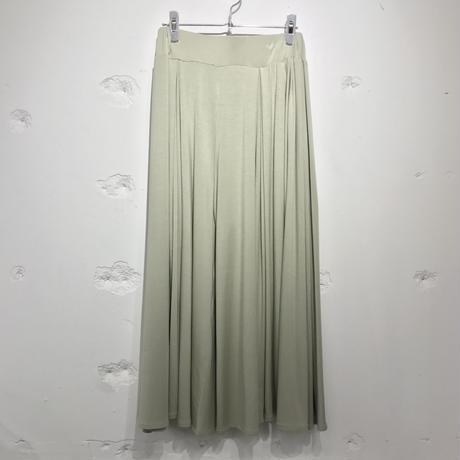 SHIROMA / knit wide pants pale colors