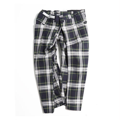 ANSEASON ANREALAGE  /  check wide short pants