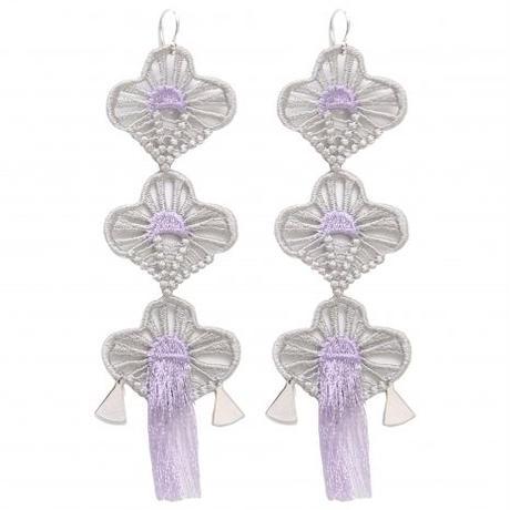 BANSAN  /  Lucky charm Piace/Earrings-ASAGIRI